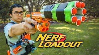 Download Zhen's NightStrike & DIY Auto Rayven - Nerf HvZ Loadout Video
