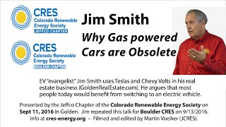 Download Why Gasoline Powered Cars Are Obsolete - Jim Smith Video