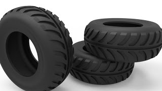 Download 3D modelling Tire in AutoCAD Video