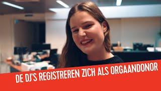 Download Q-dj's registreren zich als orgaandonor | BaQstage Video