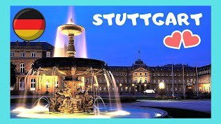 Download GERMANY's most spectacular city centre (STUTTGART), Schlossplatz or Palace Square Video