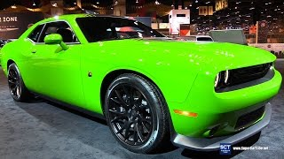Download 2017 Dodge Challenger 392 Scat Pack Shaker - Exterior Interior Walkaround - 2017 Chicago Auto Show Video