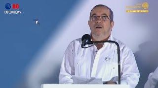 Download Susto de Timochenko al paso de aviones Kfir durante firma de la Paz Video