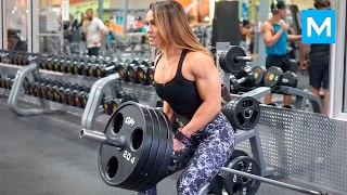 Download BEAST in the Beauty - Cassandra Martin   Muscle Madness Video