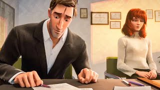 Download Peter Parker and Mary Jane Divorce Scene - SPIDER-MAN: INTO THE SPIDER-VERSE (2018) Movie Clip Video