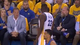 Download Draymond Green 5th Technical Foul - Oklahoma City Thunder vs Golden State Warriors May 26, 2016 Video
