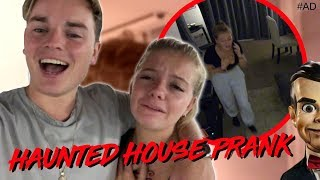 Download HAUNTED HOUSE PRANK ON LITTLE SISTER! Video