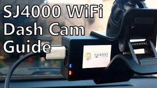 Download SJCAM SJ4000 Wi-Fi Car Dash Cam How-To Guide Video