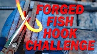 Download Fishing for catfish with hand forged fish hooks! My Ultimate Catfishing Challenge! Video