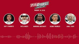 Download SPEAK FOR YOURSELF Audio Podcast (1.16.19) with Marcellus Wiley, Jason Whitlock   SPEAK FOR YOURSELF Video