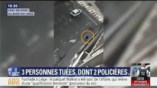 Download Attaque à Liège: des vidéos montrent l'assaillant déambulant dans les rues Video