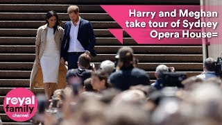 Download Prince Harry and Meghan take tour of Sydney Opera House Video