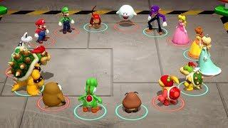 Download Super Mario Party Minigames - Mario & Peach vs Bowser & Bowser Jr Video