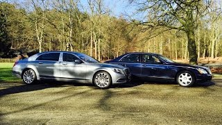Download Mercedes-Maybach S600 vs. Maybach 57 - by Autovisie TV Video