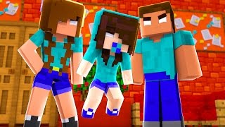 Download Minecraft: WHO'S YOUR FAMILY? - A FAMILÍA HEROBRINE! (BABY HEROBRINE) Video