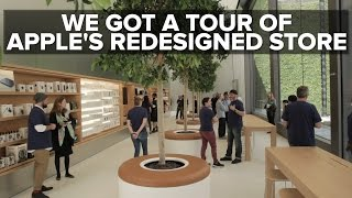 Download Take a tour of Apple's redesigned flagship store concept Video
