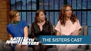 Download The Sisters Cast Talks Working with John Cena - Late Night with Seth Meyers Video