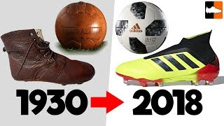 Download World Cup Evolution!! Soccer Cleats & Ball History Video