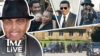 Download Joe Jackson's Funeral Brings Out Janet Jackson and Extended Family | TMZ Live Video