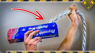 Download Can You Make a Rope with Aluminum Foil? Video