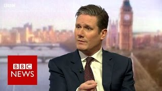 Download Sir Keir Starmer : We must fight against hard Brexit - BBC News Video