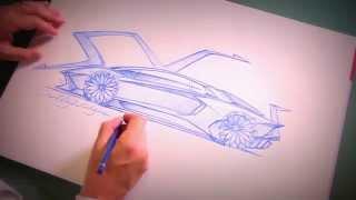 Download New Lamborghini Aventador SV - Lamborghini's design chief Filippo Perini Video