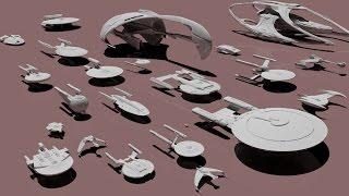Download Starships size comparison (Star Trek) Video