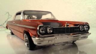 Download Lowrider 1964 impala model car Video