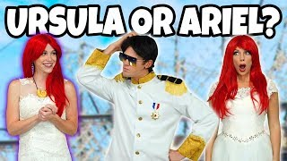 Download MARRY ARIEL OR URSULA? PRINCE ERIC AT THE MERMAID WEDDING (Ursula's Love Spell) Totally TV Video