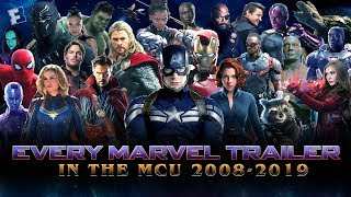 Download ALL Marvel Cinematic Universe Trailers - Iron Man (2008) to Avengers: Endgame (2019) Video