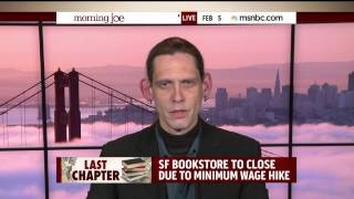 Download Book Store Owner Describes How San Francisco's Minimum Wage Increase Killed His Small Business Video
