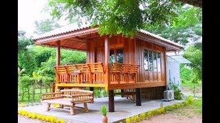 Download บ้านไม้น็อคดาว์ยกพื้นขนาดเล็กน่ารัก ดีไซน์เรียบง่ายเพื่อการพักผ่อน ท่ามกลางบรรยากาศธรรมชาติ Video