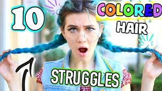 Download 10 Struggles of Having Colored Hair Video