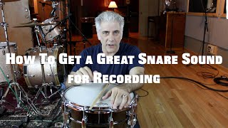 Download Music Production - How To Get A Great Snare Sound on Your Recordings Video