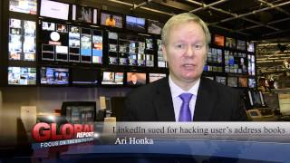 Download LinkedIn sued for hacking address books Video