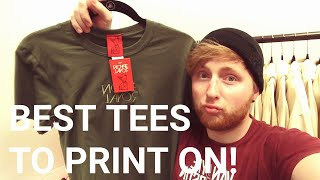 Download Best T Shirts to Print on! How to start your own clothing / Apparel company / tshirt line Video