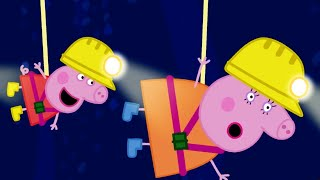 Download Peppa Pig Full Episodes | Caves | Cartoons for Children Video