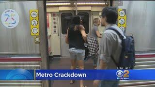 Download LA Metro Cracks Down On Bad Behavior Video