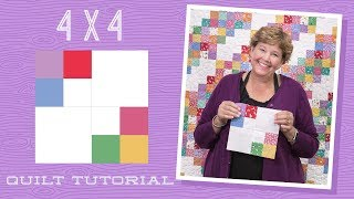 Download Make a 4 x 4 Quilt with Jenny! Video