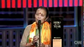 Download Anuradha Koirala - CNN Hero 2010 - CNN Hero of the year!! Video