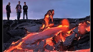 Download End Of Hawaii? Lava Flows To Pacific Ocean New Footage Kilauea Volcano Visible From Space Video