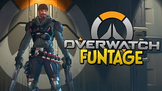 Download OVERWATCH FUNTAGE! - Reaper is Broken, Surfer Laugh, Keyboard Slobber (Overwatch Funny Moments) Video