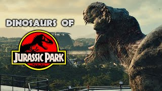 Download Dinosaurs of Jurassic Park - Every Dinosaur In The Jurassic Franchise Video