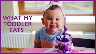 Download What My Toddler Eats! | Foodie Friday Video