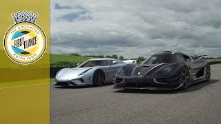 Download Koenigsegg Regera and One:1 driving together - WORLD EXCLUSIVE Video