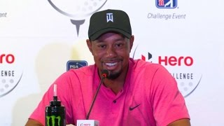 Download Tiger Woods discusses his comeback and expectations before Hero World Challenge Video