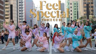 Download [KPOP IN PUBLIC CHALLENGE] TWICE - FEEL SPECIAL (OT 16) - DANCE COVER by B2 Dance Group Ft. Fix2u Video