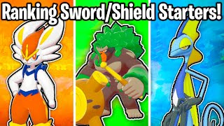 Download RANKING ALL 3 STARTER POKEMON IN SWORD AND SHIELD FROM WORST TO BEST! Video