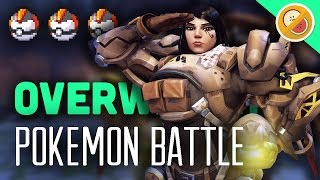 Download POKEWATCH #9 - TURN BASED COMBAT! Overwatch Custom Game Gameplay (Funny Moments) Video