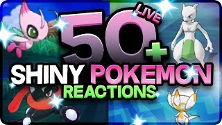 Download 50 BEST SHINY POKEMON REACTIONS! Pokemon Ultra Sun and Moon Shiny Montage! Epic Shiny Reactions! Video